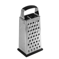 "Large Stainless Steel Anti-Slip Box Grater 9.5"" / 24cm"