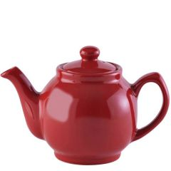 Price & Kensington Gloss Bright Red Teapot 6 Cup 39oz / 1.1Ltr