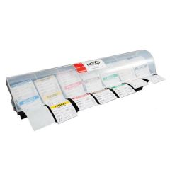 "7 Compartment Day Dot Label Dispenser for 2"" / 50mm Labels"