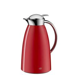 Gusto Lacquered Metal Fire Red Vacuum Jug 1 Litre