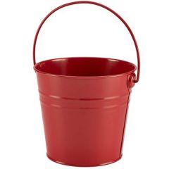 Red Finish Serving Bucket 74oz / 2.1Ltr