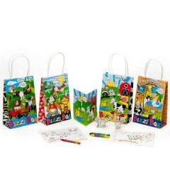 Children's Pet / Farm / Safari / Zoo Bizzi Activity Bag