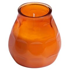 Bolsius Twilight Lowboy Candle Orange