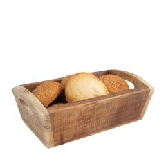 Wooden Nordic Natural Deep Tray 287x180x100mm