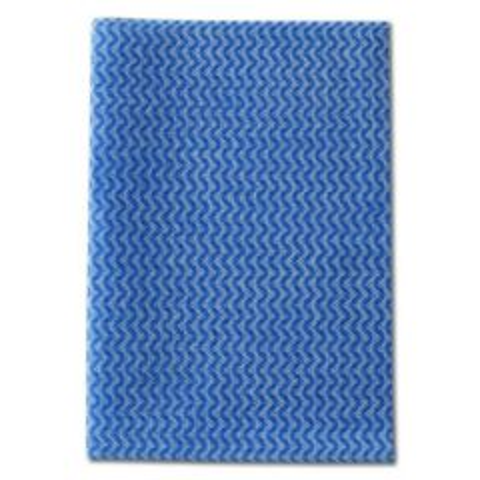Envirolite Plus Folded Anti Bacterial Blue Medium Weight Cloth 50x36cm