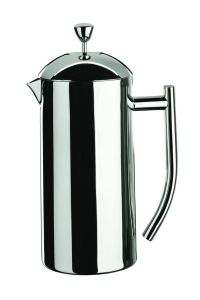 Café Stal Insulated Double walled Cafetiere 18/10 Mirror Finish Stainless Steel Six Cup