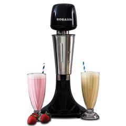 Roband Black Single Spindle Drinks Mixer 13 Amp 150 Watt 220x204x482mm
