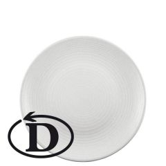 """Clearance Dudson Evo Pearl Coupe Plate 9"""" / 22.9cm"""