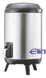 Elia Insulated Beverage Dispenser on a Stand Stainless Steel 18 Pint / 10Ltr