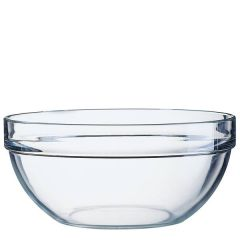 "Stacking Toughened Glass Salad / Mixing Bowl 11.5"" / 29cm"