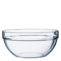 "Stacking Toughened Glass Salad / Mixing Bowl 10.25"" / 26cm"