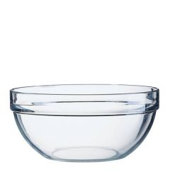 "Stacking Toughened Glass Salad / Mixing Bowl 9"" / 23cm"