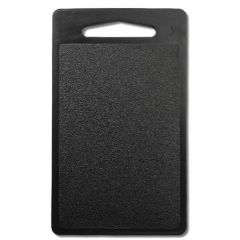 "Black Bar Top Cutting Board with Handle 10x6x0.25"" / 25x15x0.8cm"