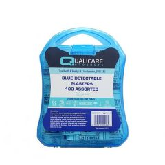 Assorted Blue Plaster Kit in Clear Case