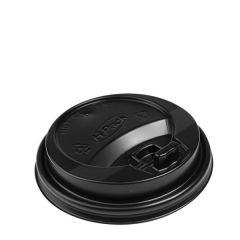 Cafe-Mocha Black Reclosable Lid for 12oz & 16oz / 34cl & 45cl