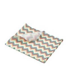 "Multi Coloured Chevron Print Greaseproof paper 10x8"" / 25x20cm"