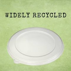Sabert Recyclable Clear Lid for 750 & 1000ml BePulp Round Container