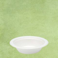 "Bagasse Eco-Friendly Round Bowl 6.25"" / 16cm, 12oz / 34cl"