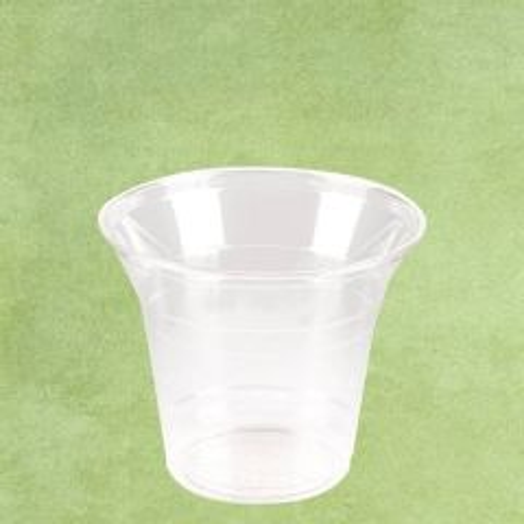 PLA Eco-Friendly Squat Smoothie Cup Clear 9oz / 26cl