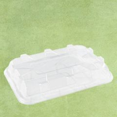 Sabert Clear rPET Domed Lid to fit Platter Base 46x30cm