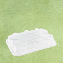 Sabert Clear rPET Domed Lid to fit Platter Base 35x24cm