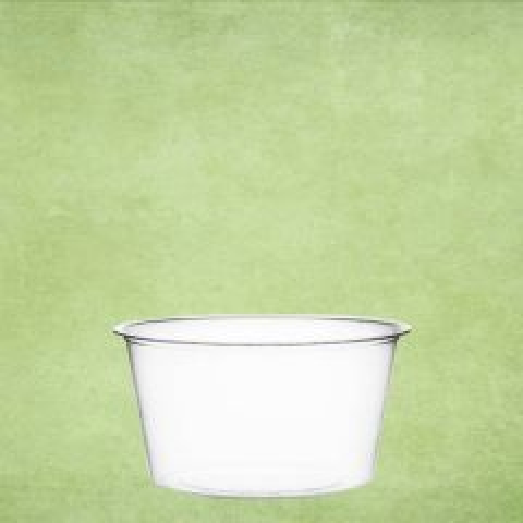 Clear PLA Cold Portion Pot 2oz / 6cl