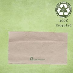Kraft Dispenser Napkin '100% Recycled' 1ply 32x30cm