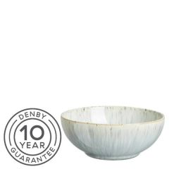 """Denby Halo Speckle Coupe Cereal Bowl 6.7"""" / 17cm"""