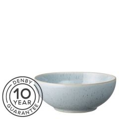 "Denby Studio Blue Pebble Cereal Bowl 6.7"" / 17cm"