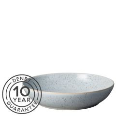 "Denby Studio Blue Pebble Pasta Bowl 8.7"" / 22cm"