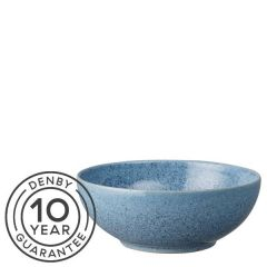 "Denby Studio Blue Flint Cereal Bowl 6.7"" / 17cm"