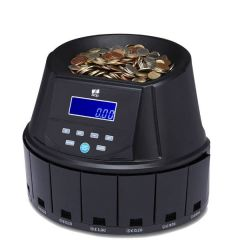 Coin Counter & Sorter 300 Coins per Minute H280 x W350 x D318mm