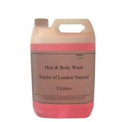 Taylor of London Natural Hair & Body Wash Refill 5Ltr