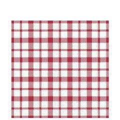 Duni Giovanni Red Tissue Napkin 3 Ply 33x33cm