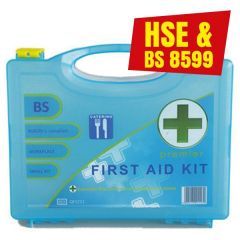 BSI Large Catering First Aid Kit In Eclipse Box 1-50 Persons BS8599-1