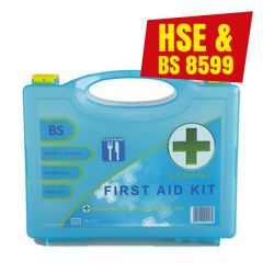 Medium First Aid Kit BS8599 Compliant for 1-20 Persons Elipse Box