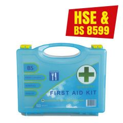 Small First Aid Kit BS8599 Compliant for 1-10 Persons Elipse Box