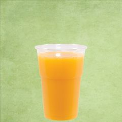 Disposable rPET Smoothie Cup Clear Tulip Shape 8oz / 25cl