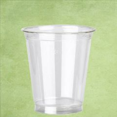 Disposable rPET Smoothie Cup Clear Straight Shaped 15oz / 42.5cl