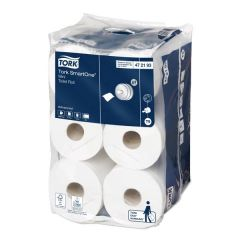 Tork T9 Mini SmartOne Toilet Roll 2ply