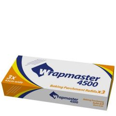 "Wrapmaster 4500 Baking Parchment Refill Roll 18"" / 45cm x 50m"