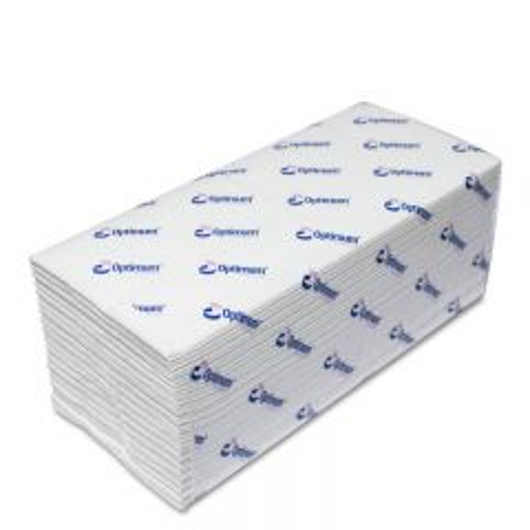 Essentials White C-Fold Hand Towel 2ply
