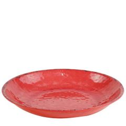 "Casablanca Collection Red Melamine Bowl 16.5x2.75"" / 42x7cm, 6Ltr"