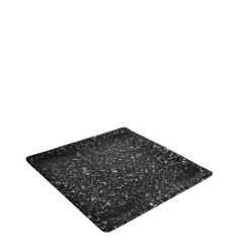 "Oxford Granite Effect Melamine Square Tray 12x12x0.7"" / 30x30x1.7cm"