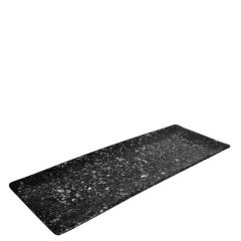 "Oxford Granite Effect Melamine Rectangular Tray 21x7.7x0.7"" / 53x19.5x1.7cm"