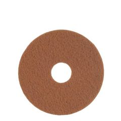 "Superpad Tan Polishing Floorpad 17"" / 43cm"