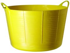 Red Gorilla Flexible Container Extra Large Yellow 75Ltr