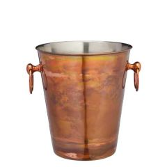 Tarnished Glow Stainless Steel Champagne Bucket