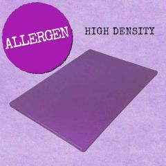 "Purple Allergen High Density Chopping Board 18x12x0.5"" / 46x30x1.3cm"