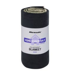 Black Result Polartherm Fleece Blanket 140x175cm